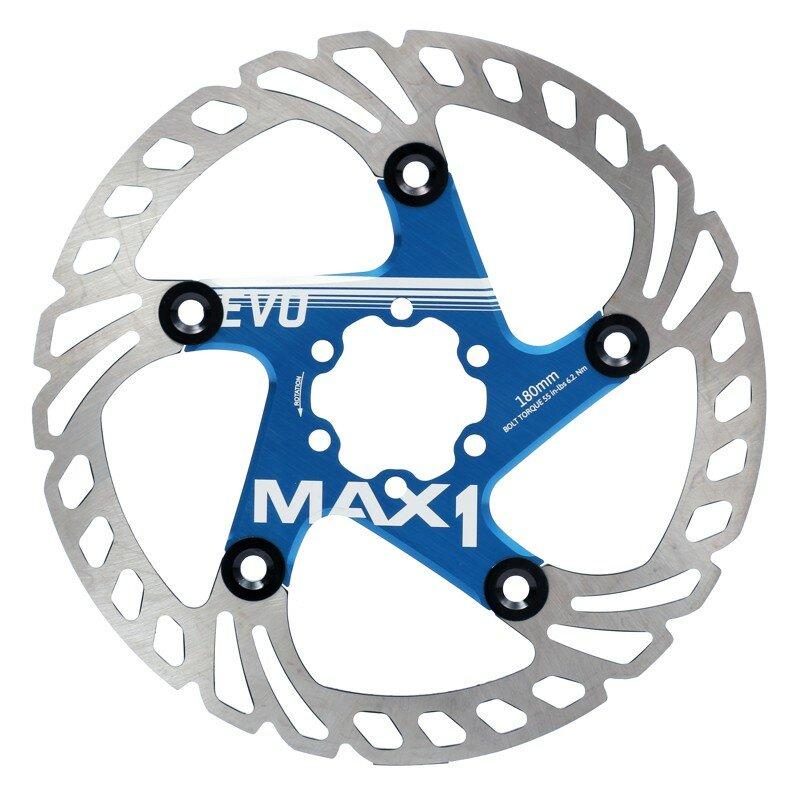 Brzdový kotouč MAX1 Evo 180mm modrý