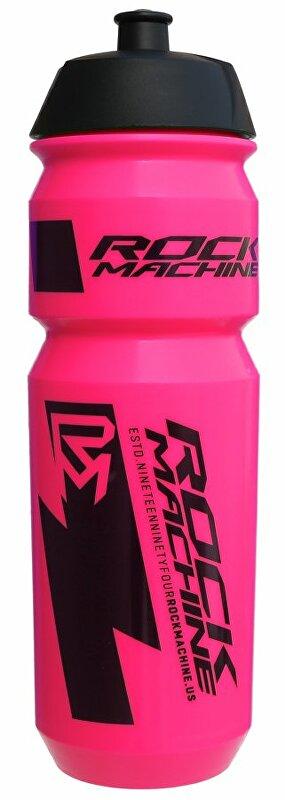 lahev ROCK MACHINE Performance 0,85 l fluo růžová