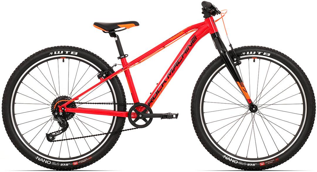 Juniorské kolo Rock Machine Thunder 27 gloss dark red/black/orange 2021 vel. S