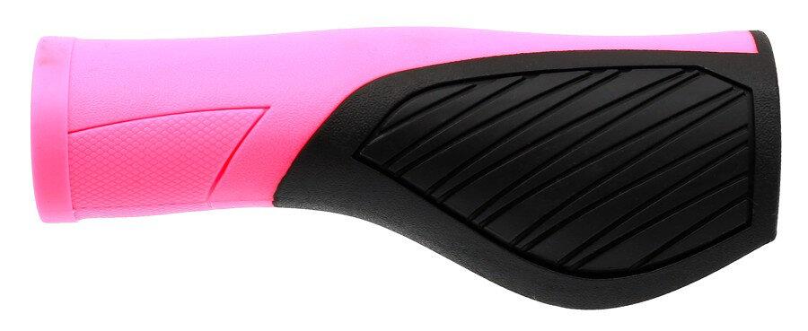 gripy MAX1 Ergonomic černo/růžové