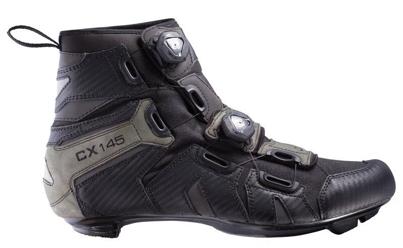 tretry LAKE CX145 černo/šedé vel.43