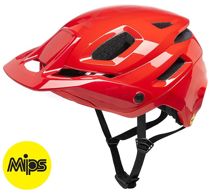 přilba KED Pector MIPS M fiery red matt 52-58 cm