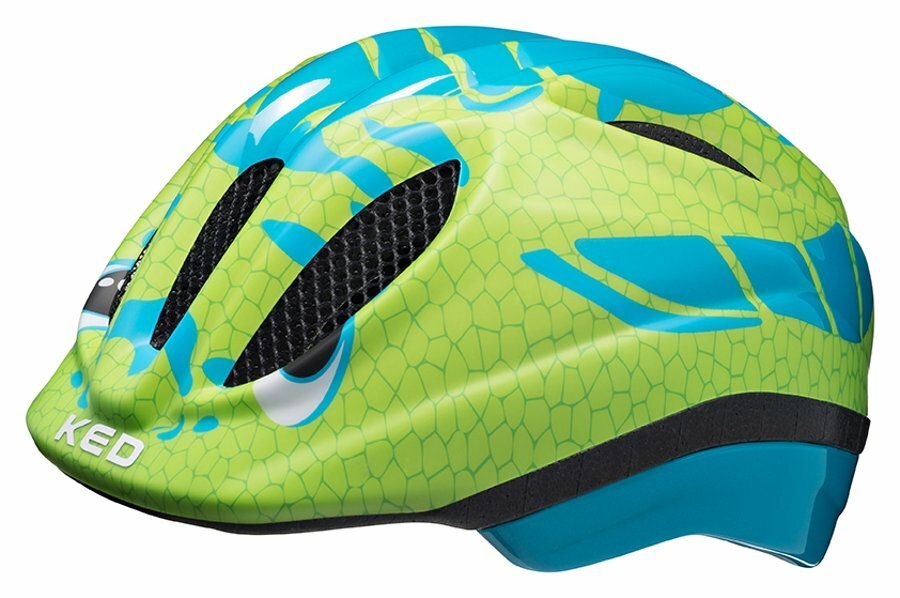 přilba KED Meggy Trend M dino light blue green 52-58 cm