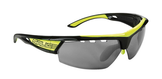 brýle SALICE 005RBW black-yellow/RW black/transparent