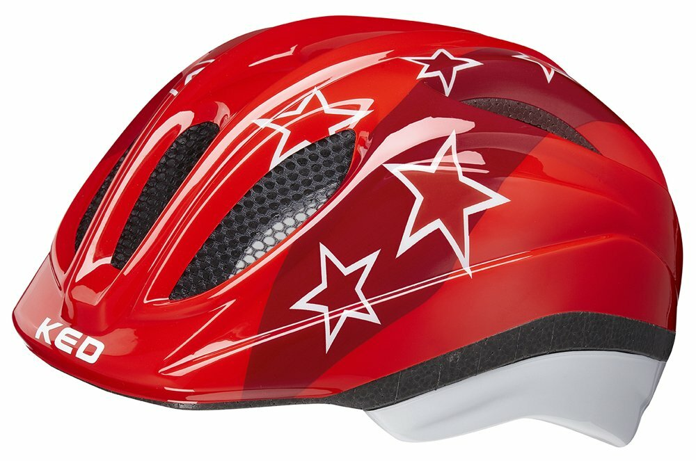přilba KED Meggy M red stars 52-58 cm