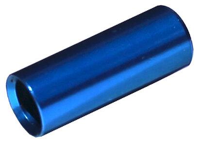 koncovka bowdenu MAX1 CNC Alu 4 mm modrá 100 ks