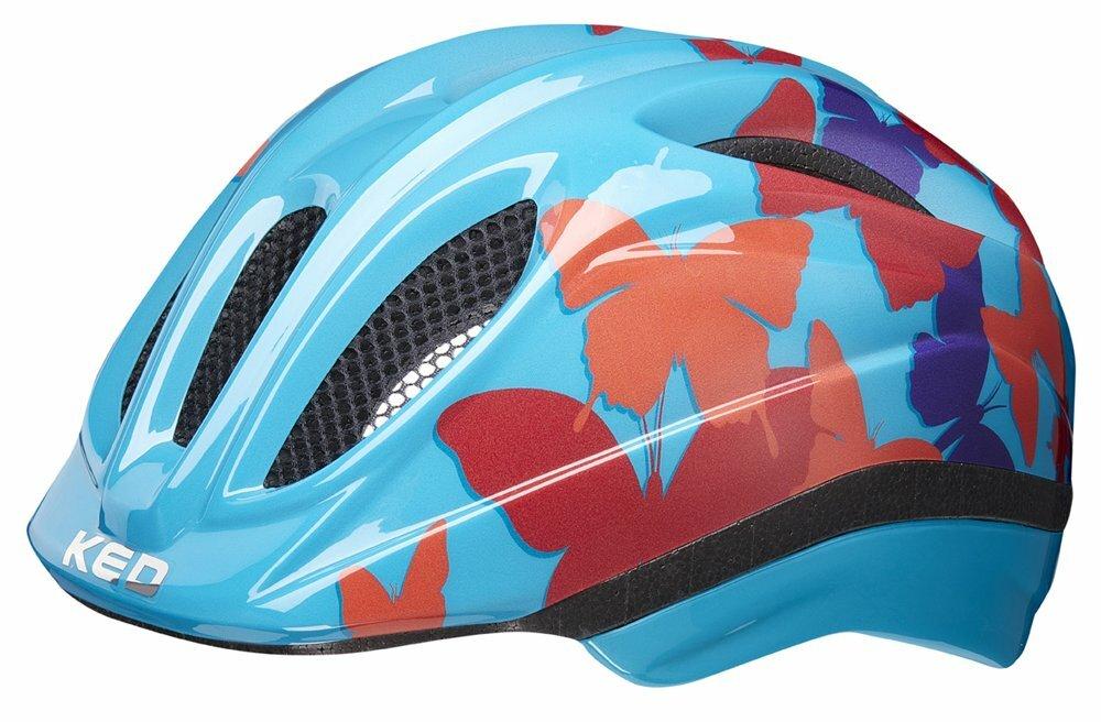 přilba KED Meggy Trend S butterfly blue 46-51 cm