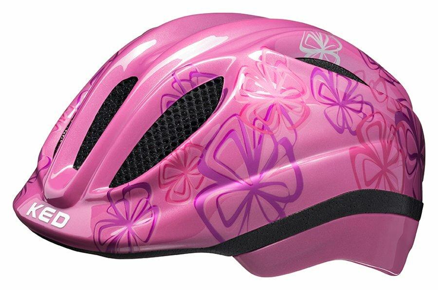přilba KED Meggy Trend M pink flower 52-58 cm