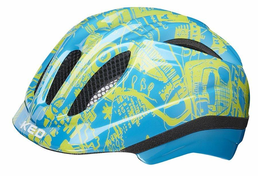 přilba KED Meggy Trend XS blue yellow  44-49 cm