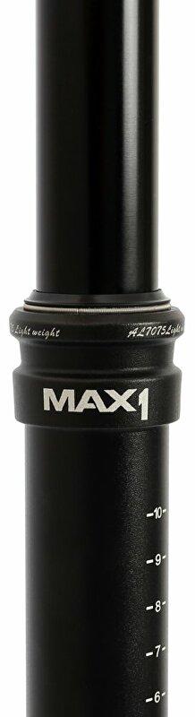 teleskopická sedlovka MAX1 Evo 30,9/458 mm černá