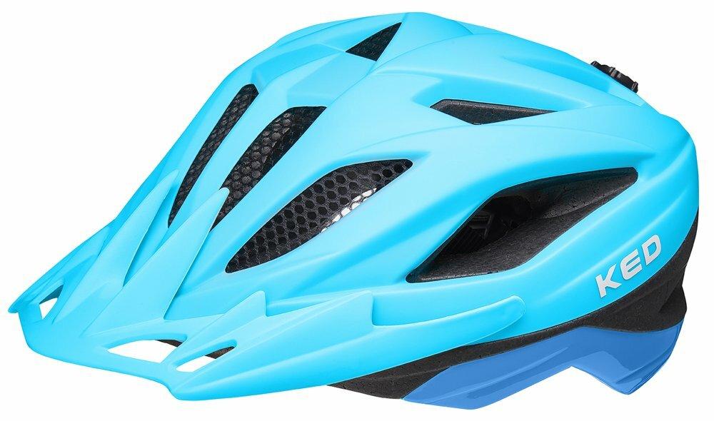 přilba KED Street Junior Pro M blue matt 53-58 cm