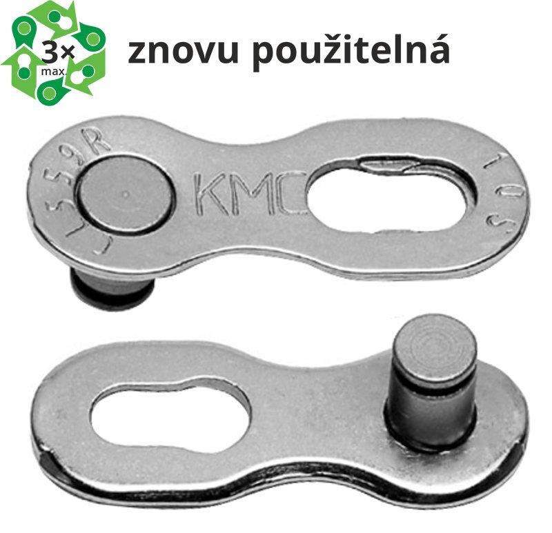 spojka řetězu KMC 10 speed EPT, balení 2 ks, cena za balení