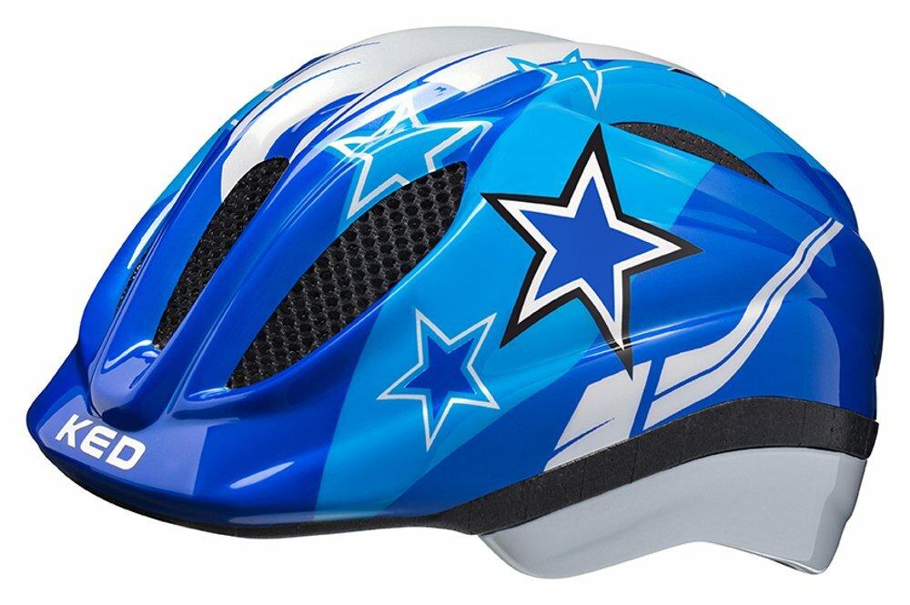 přilba KED Meggy S blue stars 46-51 cm