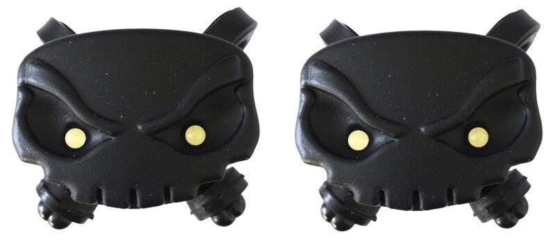 blikačky MAX1 Lebka sada 2 ks černé