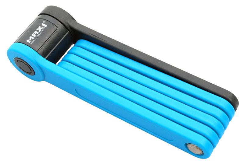 skládací zámek MAX1 Bull 850 mm modrý