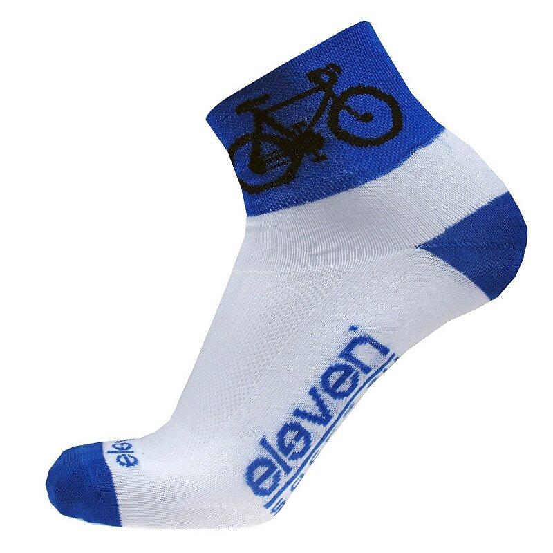 ponožky ELEVEN Howa ROAD vel. 5-7 (M) bílé/modré