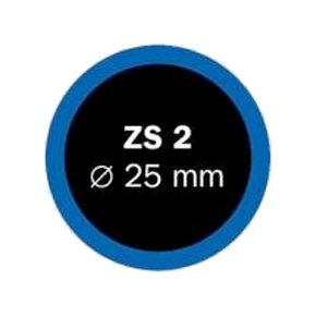 záplaty FERDUS ZS 2 pr.25mm balení 100ks