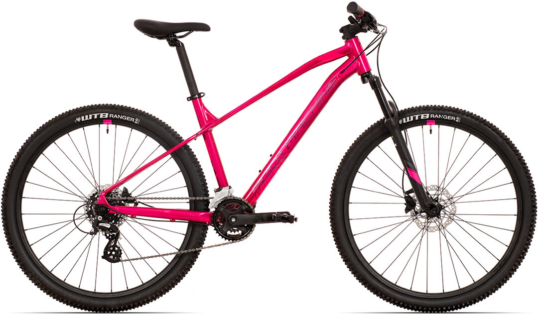 Dámské kolo Rock Machine Catherine 40-27  gloss pink/light pink/crimson 2021