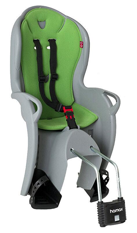 sedačka zadní HAMAX Kiss šedo/zelená