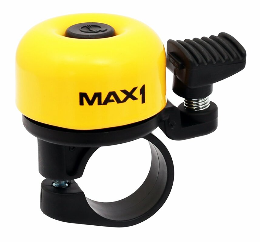 zvonek MAX1 mini žlutý
