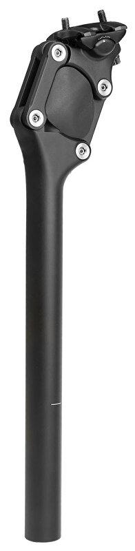 sedlovka odpružená MIGHTY Paralelogram 27,2/350mm černá