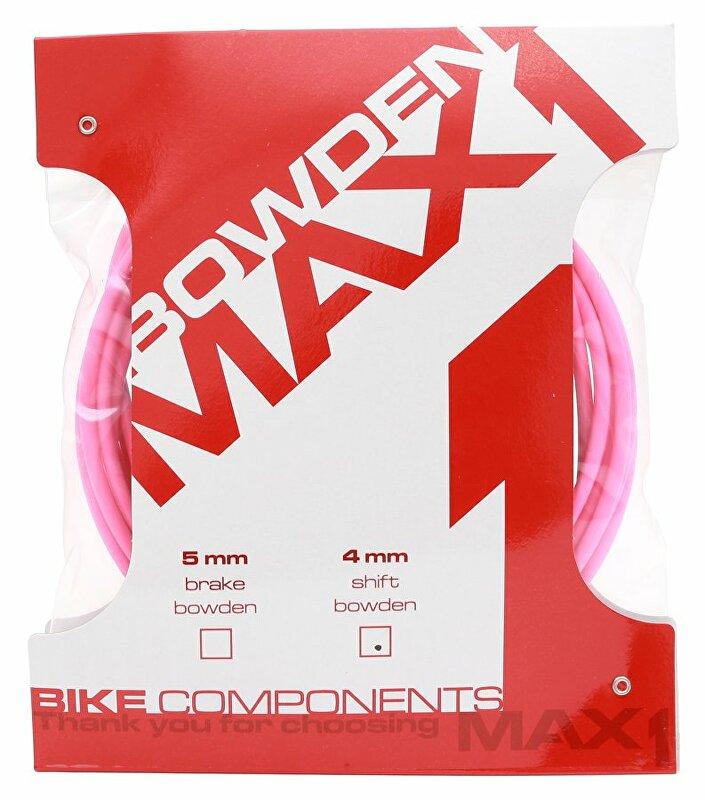 Bowden MAX1 4mm fluo růžová balení 3m