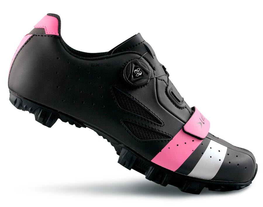 tretry LAKE MX176 černo/růžovo/stříbrné vel.36