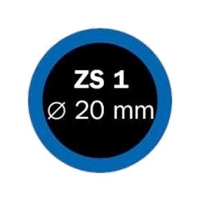 záplaty FERDUS ZS 1 pr.20mm balení 100ks