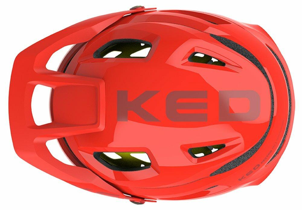 přilba KED Pector MIPS L fiery red matt 56-61 cm