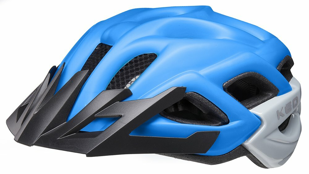 přilba KED Status Junior M blue black matt 52-59 cm