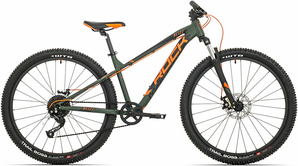 kolo Rock Machine Blizz 27 MD (XS) khaki mat/neon orange/black
