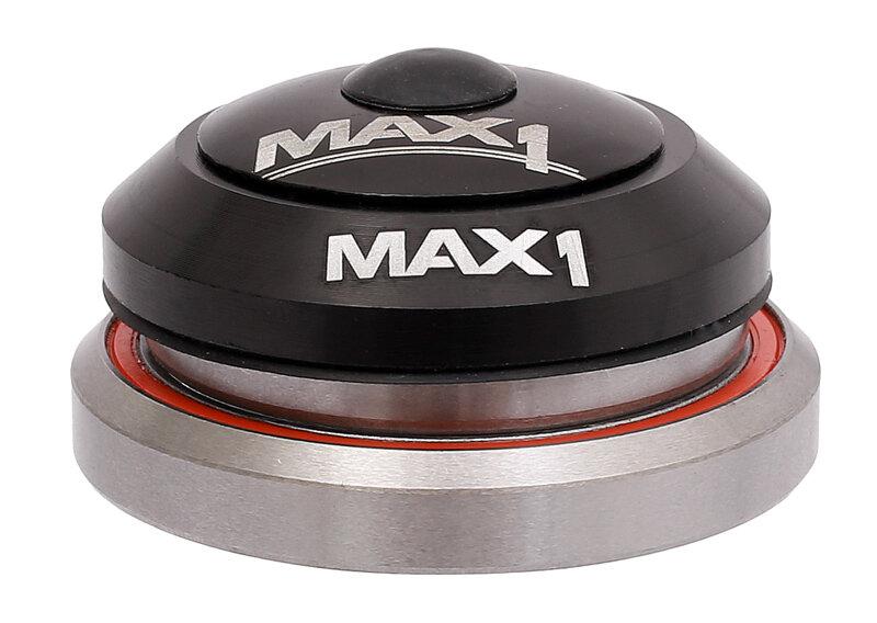 """Integrované asymetrické hlavové složení MAX1 1,5"""" a 1 1/8"""" černé"""