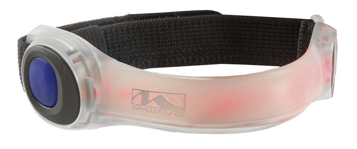 páska M-WAVE LED červené světlo